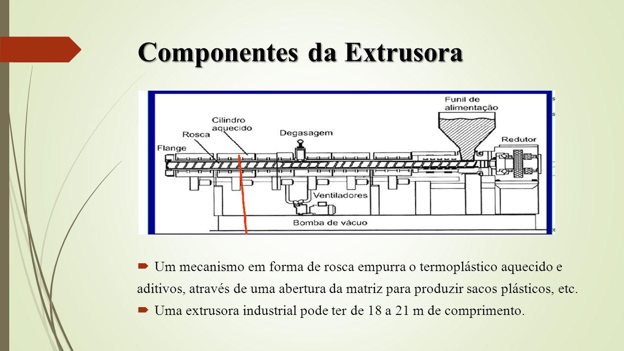 Componentes da Extrusora