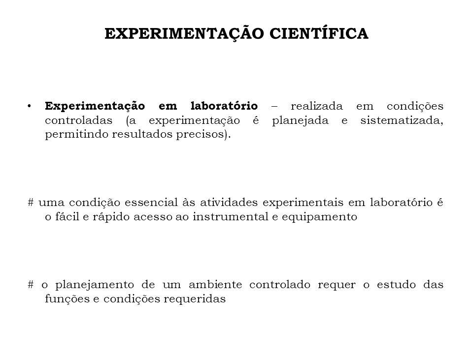 EXPERIMENTAÇÃO CIENTÍFICA