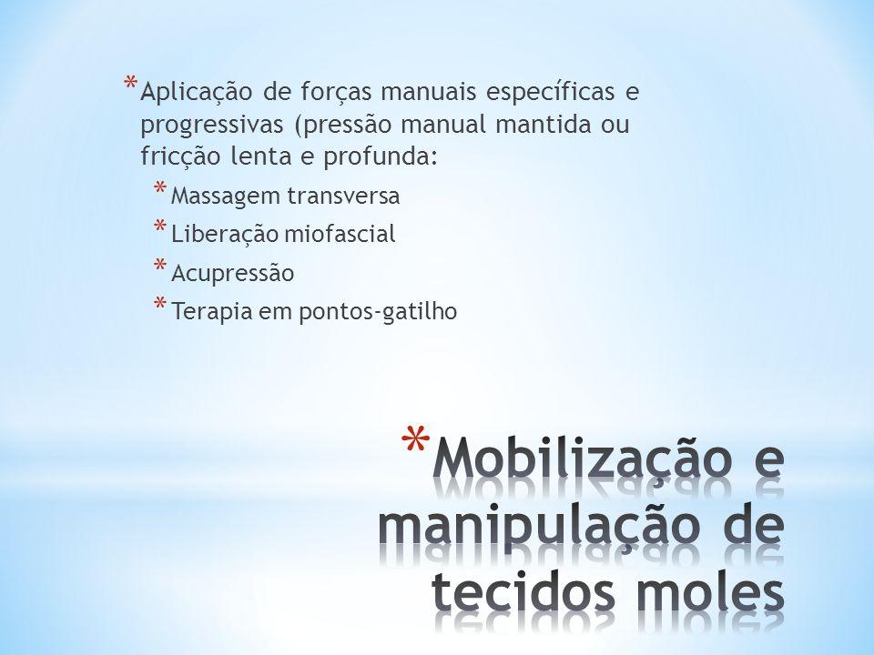 Mobilização e manipulação de tecidos moles