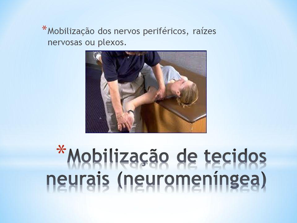 Mobilização de tecidos neurais (neuromeníngea)