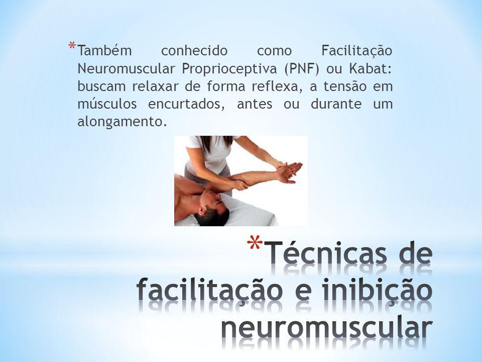 Técnicas de facilitação e inibição neuromuscular