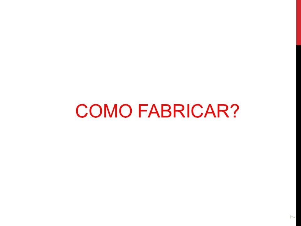 COMO FABRICAR