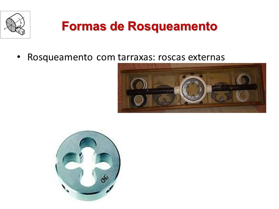 Formas de Rosqueamento