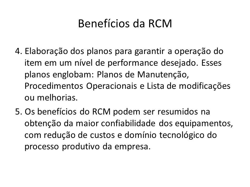 Benefícios da RCM