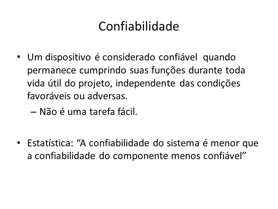 Confiabilidade