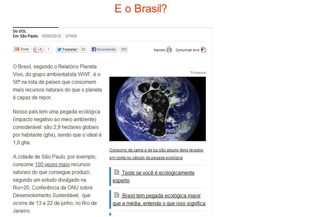 E o Brasil