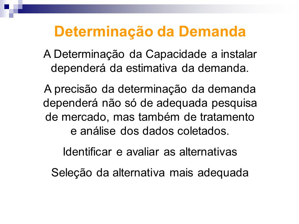 Determinação da Demanda