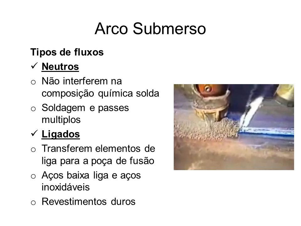 Arco Submerso Tipos de fluxos Neutros