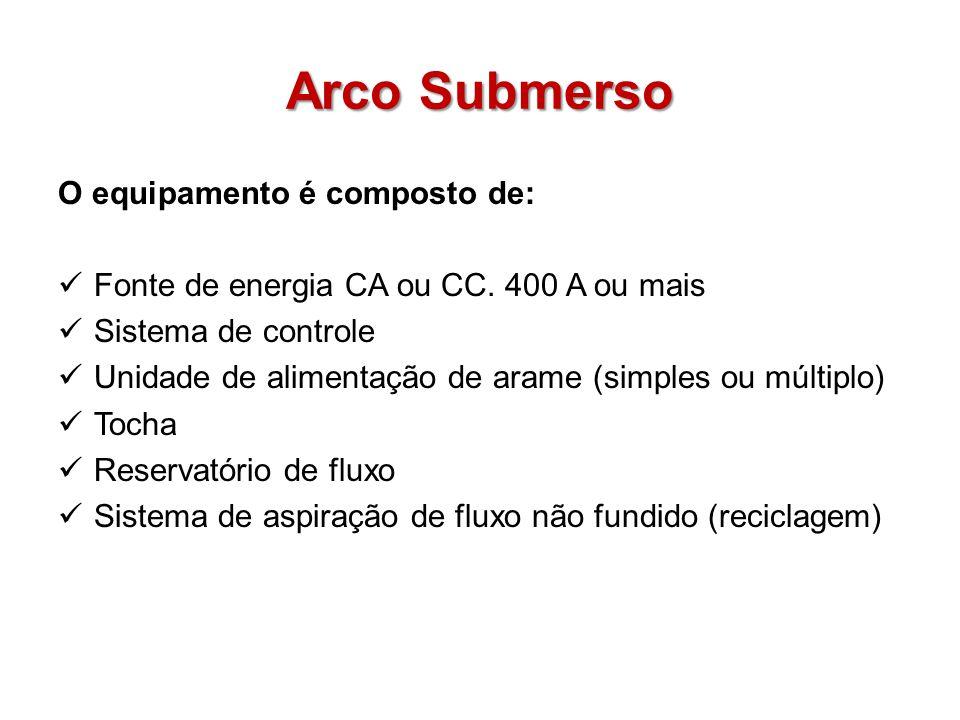 Arco Submerso O equipamento é composto de: