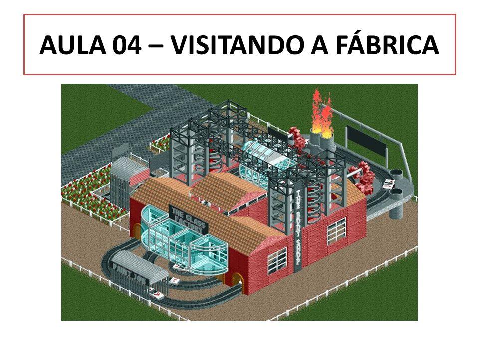 AULA 04 – VISITANDO A FÁBRICA