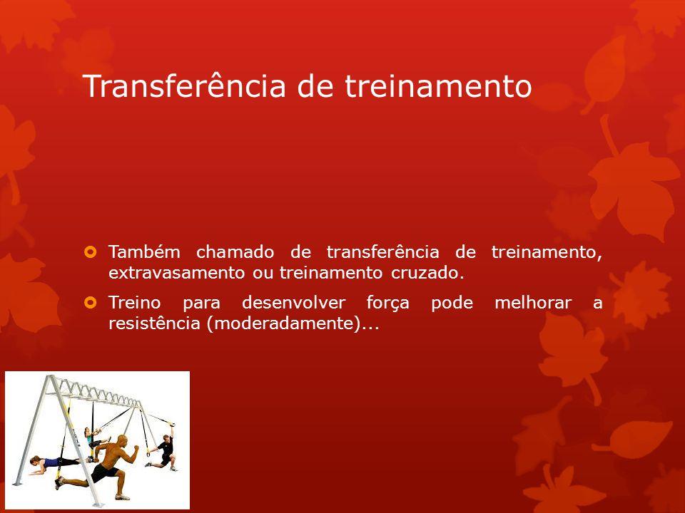 Transferência de treinamento
