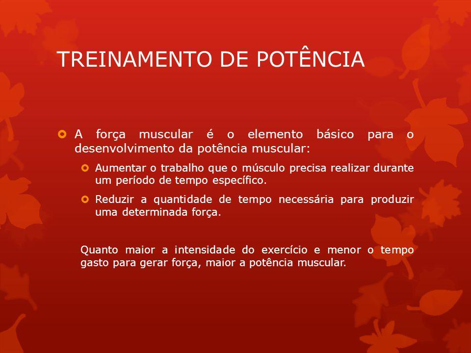 TREINAMENTO DE POTÊNCIA