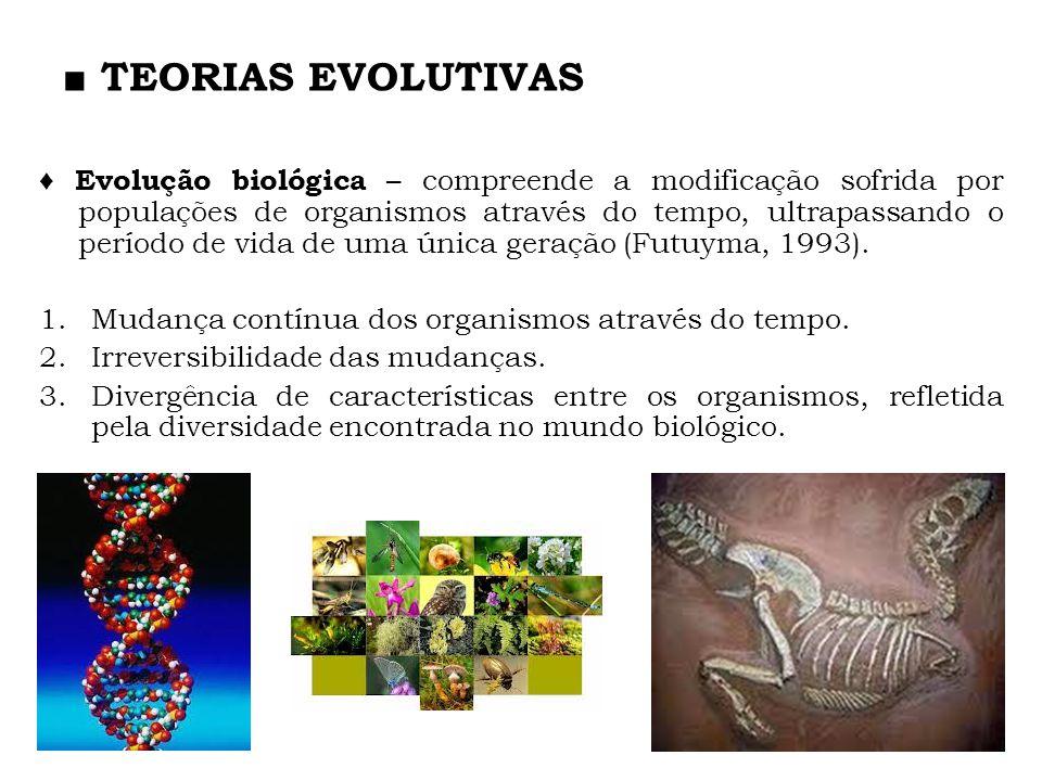 ■ TEORIAS EVOLUTIVAS
