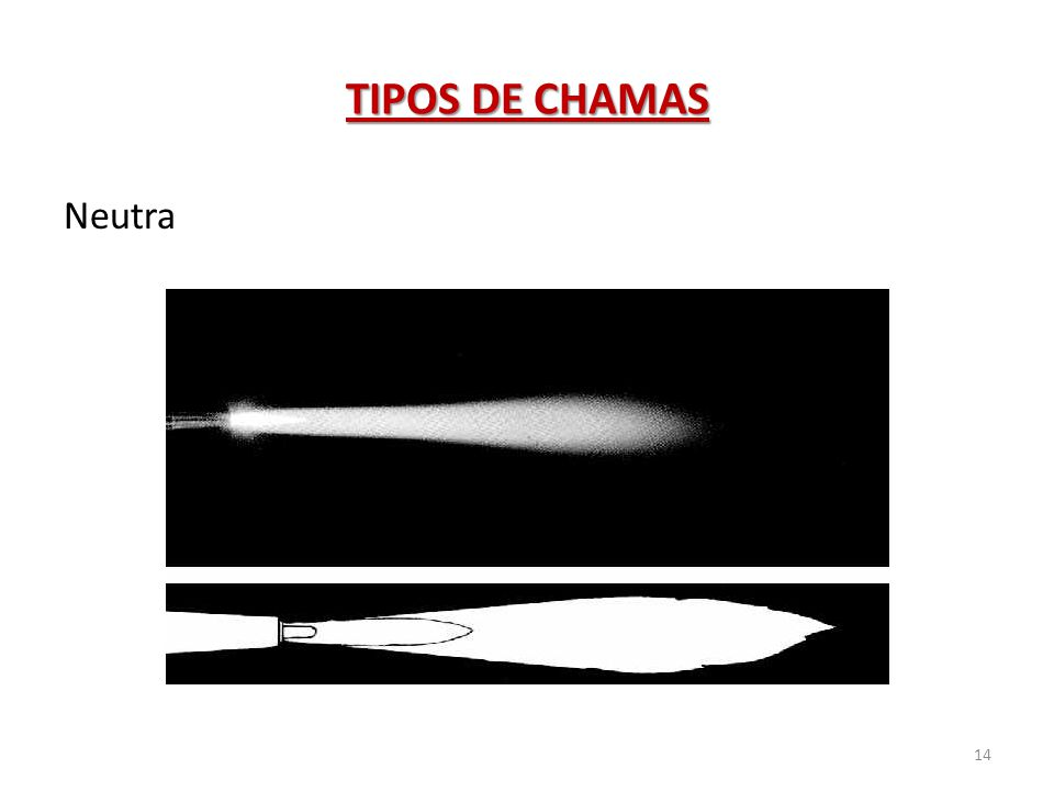 TIPOS DE CHAMAS Neutra