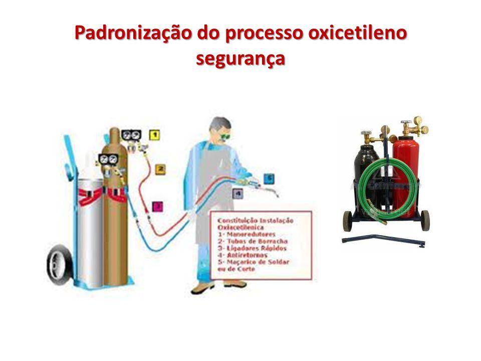 Padronização do processo oxicetileno segurança