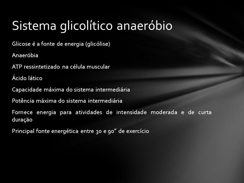 Sistema glicolítico anaeróbio