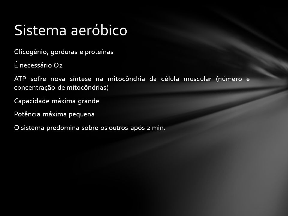 Sistema aeróbico