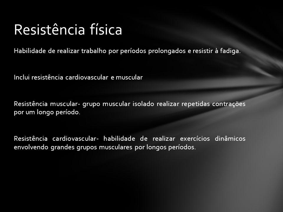 Resistência física