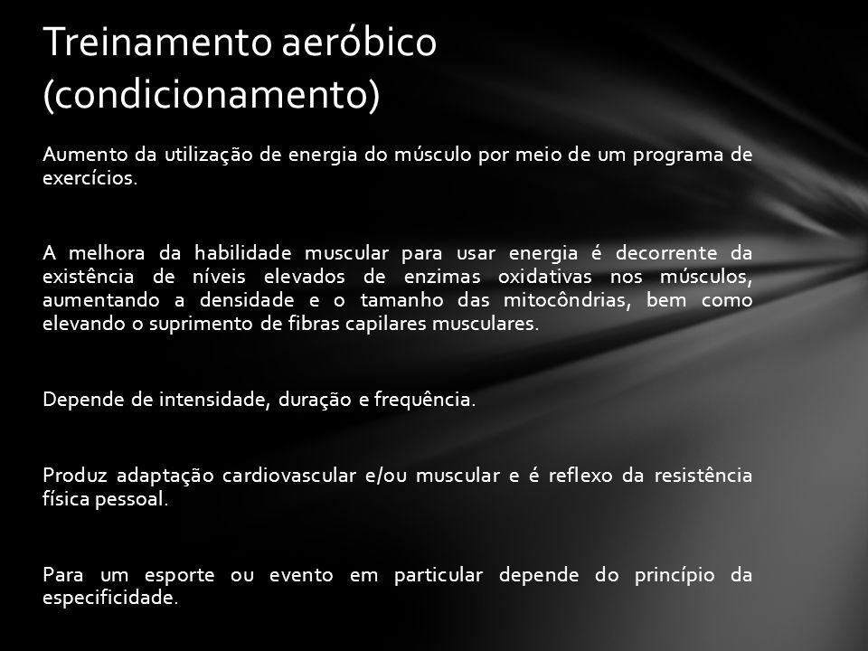 Treinamento aeróbico (condicionamento)