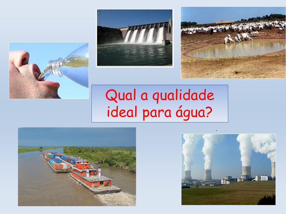 Qual a qualidade ideal para água