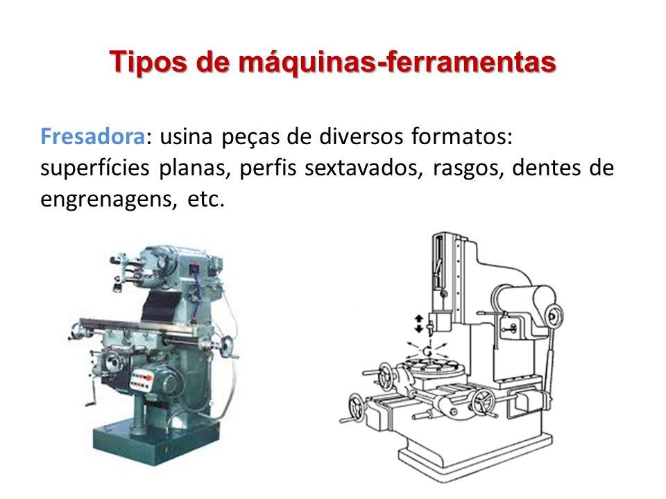 Tipos de máquinas-ferramentas