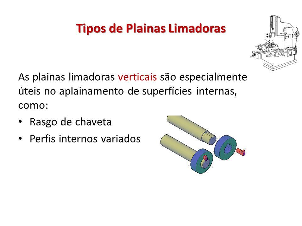 Tipos de Plainas Limadoras