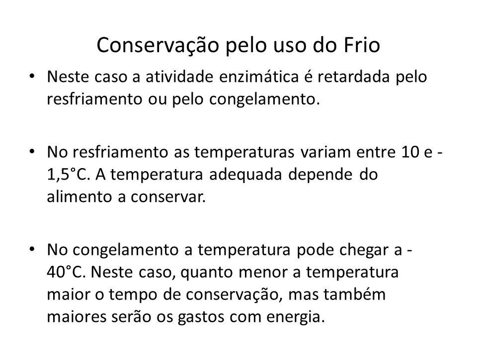 Conservação pelo uso do Frio