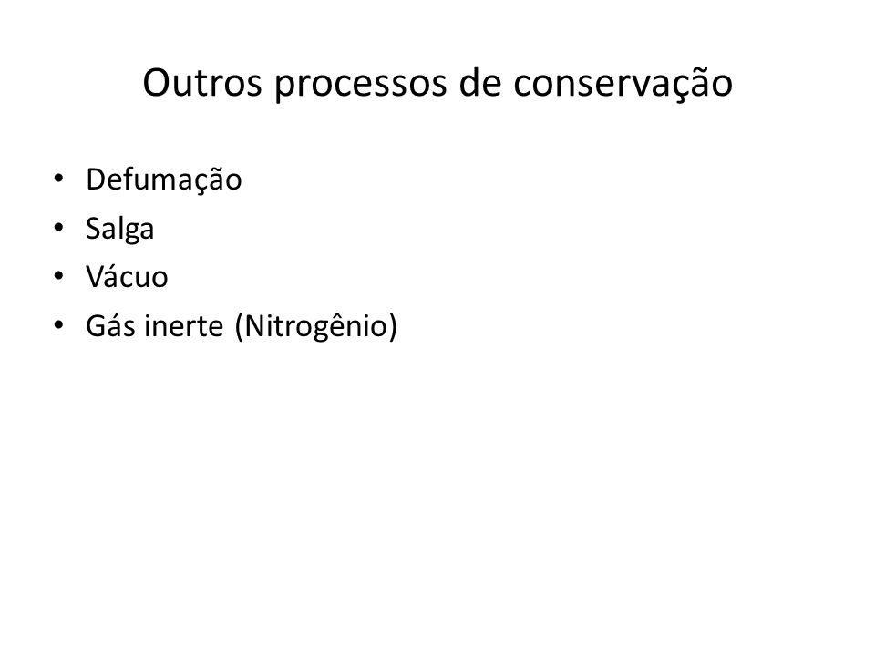 Outros processos de conservação