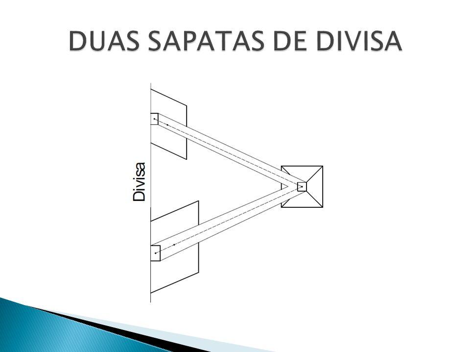 DUAS SAPATAS DE DIVISA