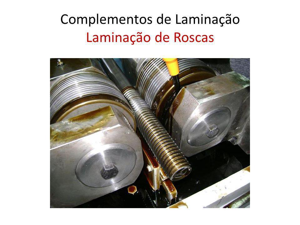 Complementos de Laminação Laminação de Roscas