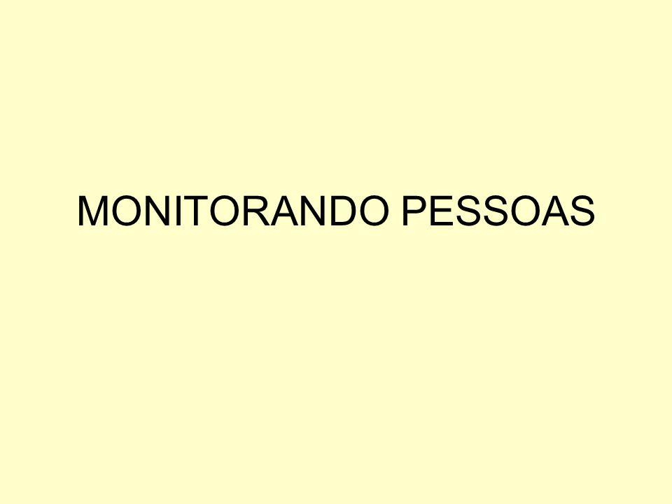 MONITORANDO PESSOAS
