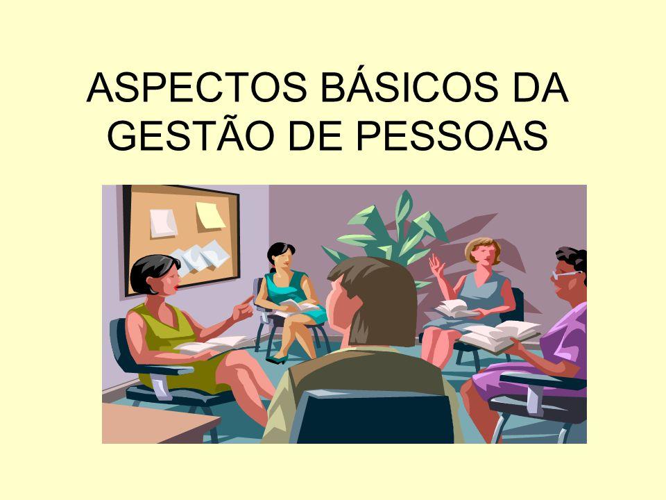 ASPECTOS BÁSICOS DA GESTÃO DE PESSOAS