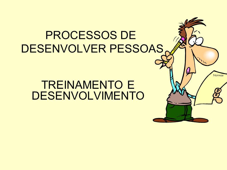 PROCESSOS DE DESENVOLVER PESSOAS