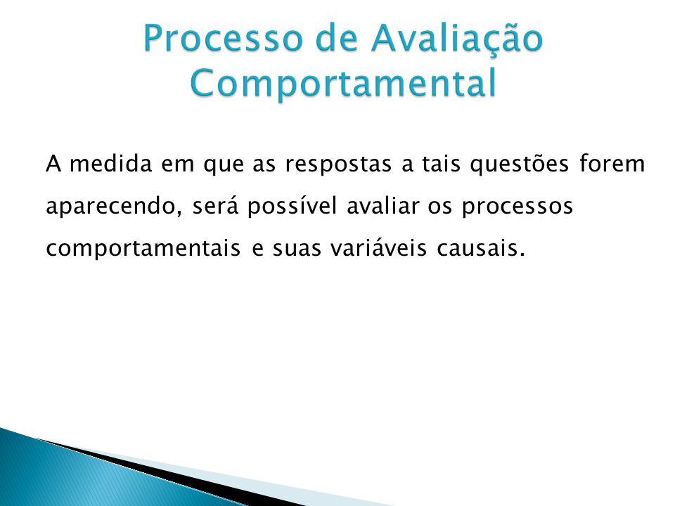 Processo de Avaliação Comportamental