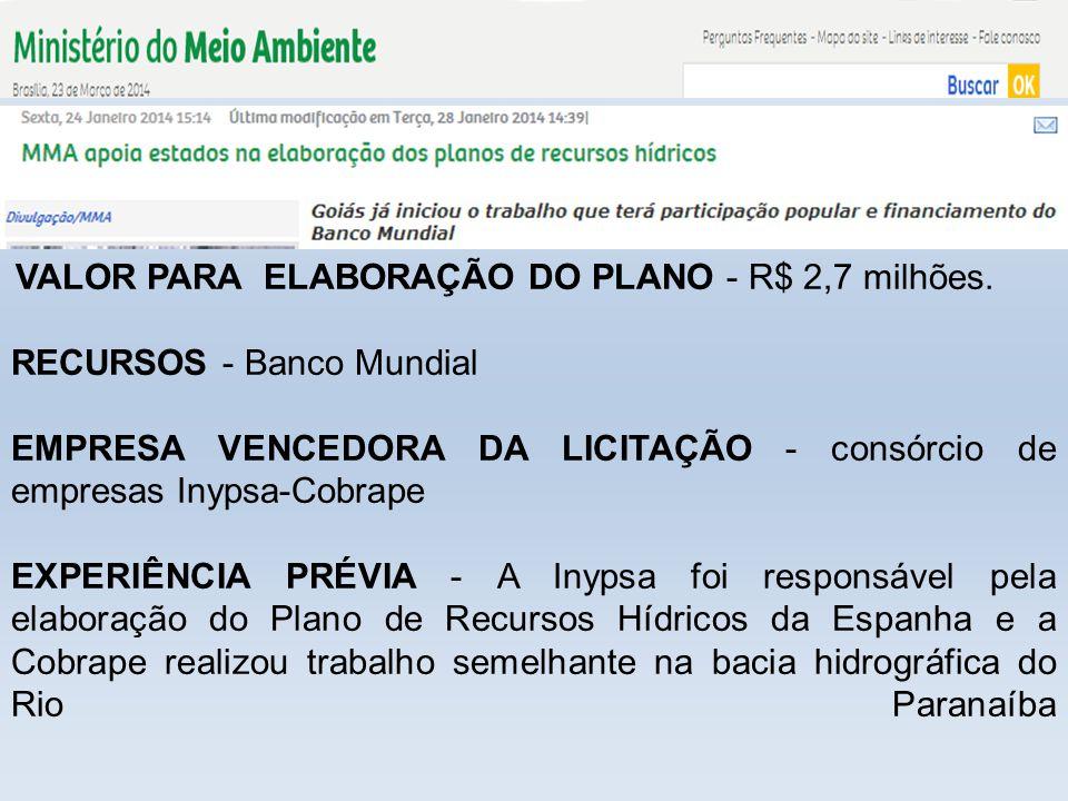RECURSOS - Banco Mundial