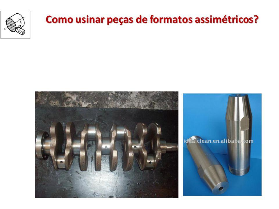 Como usinar peças de formatos assimétricos