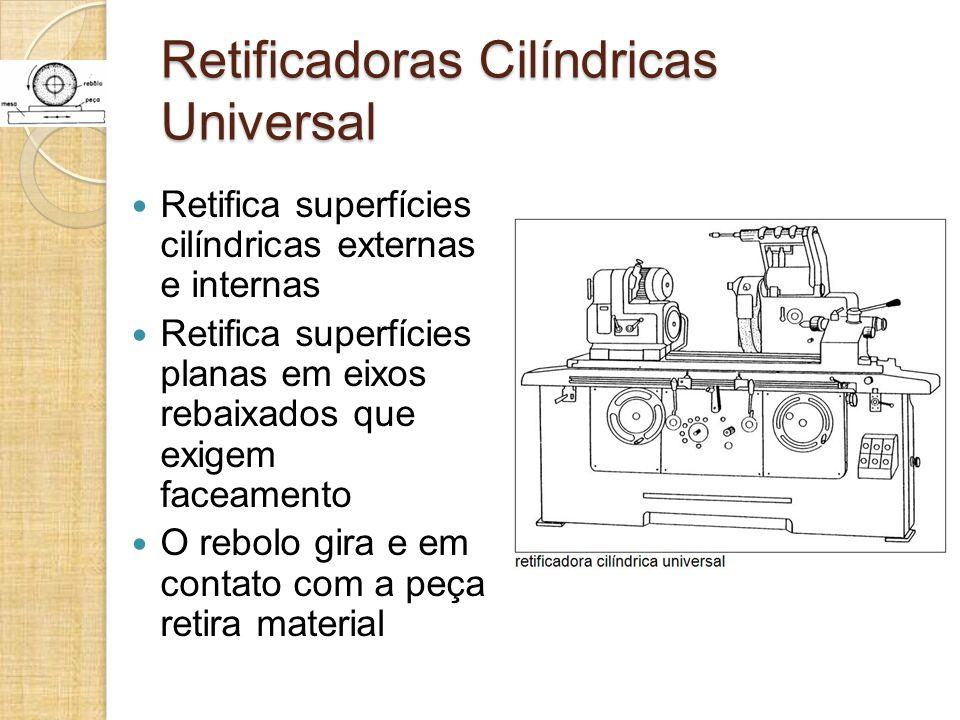 Retificadoras Cilíndricas Universal