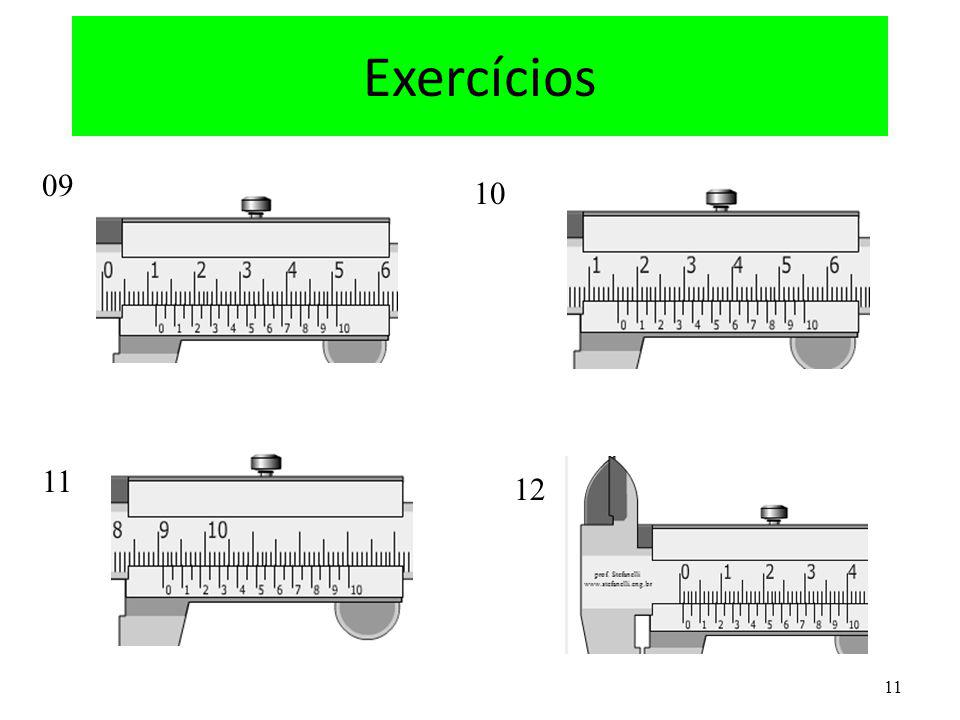 Exercícios 09 10 11 12