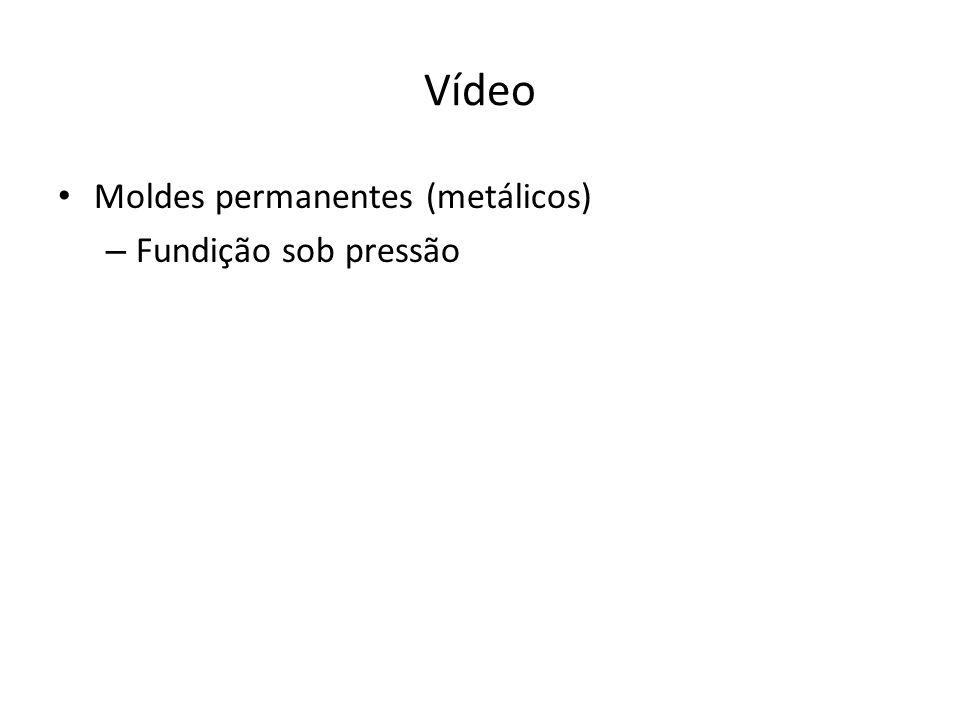 Vídeo Moldes permanentes (metálicos) Fundição sob pressão