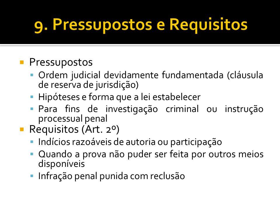 9. Pressupostos e Requisitos