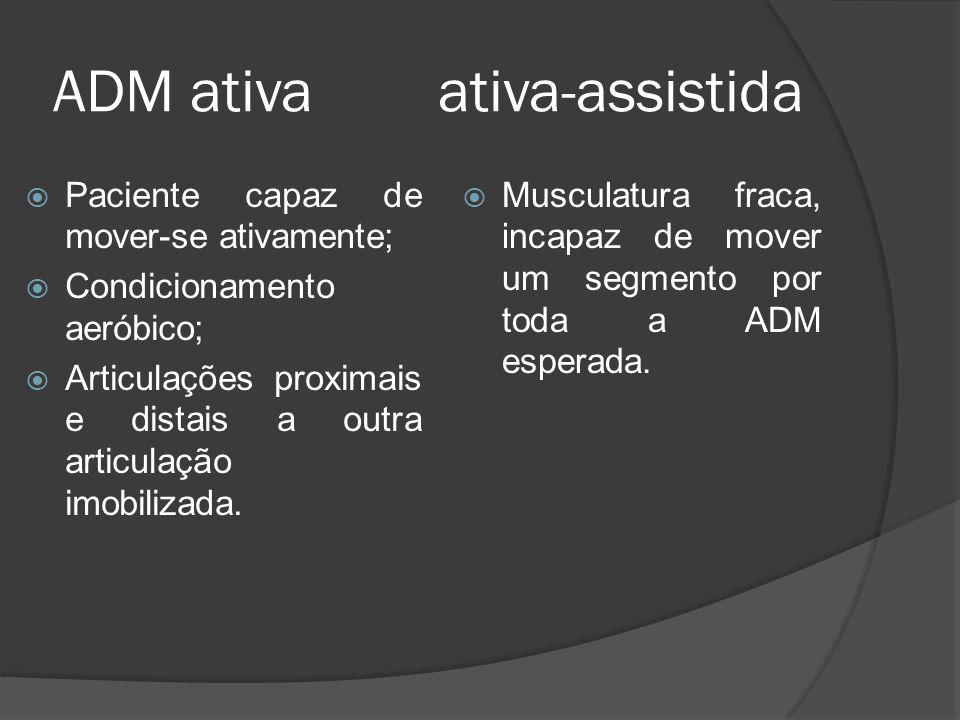 ADM ativa ativa-assistida