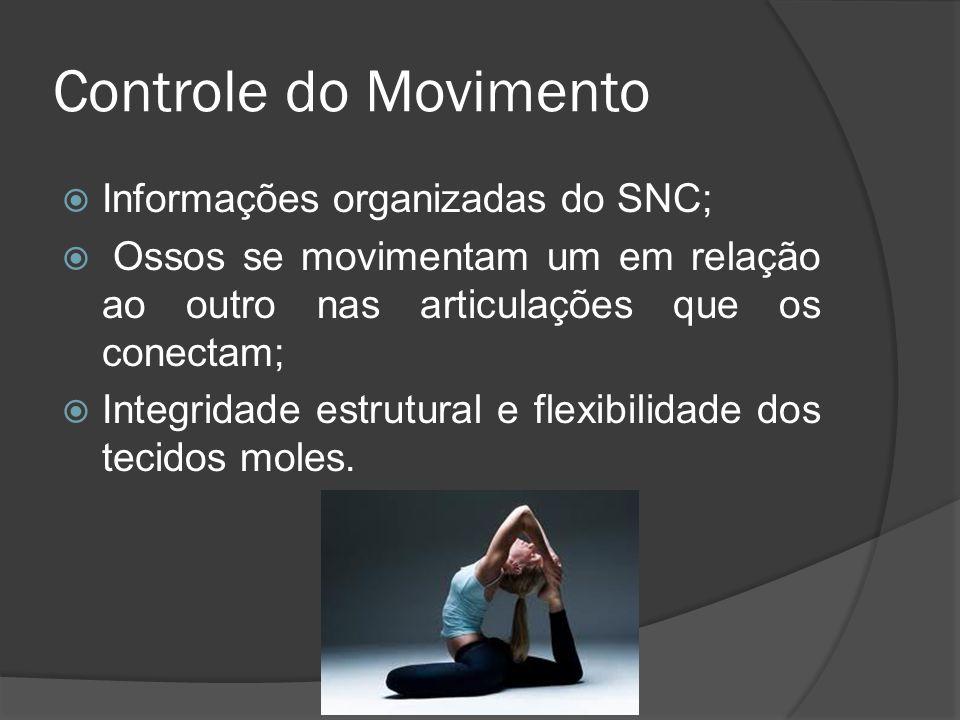 Controle do Movimento Informações organizadas do SNC;