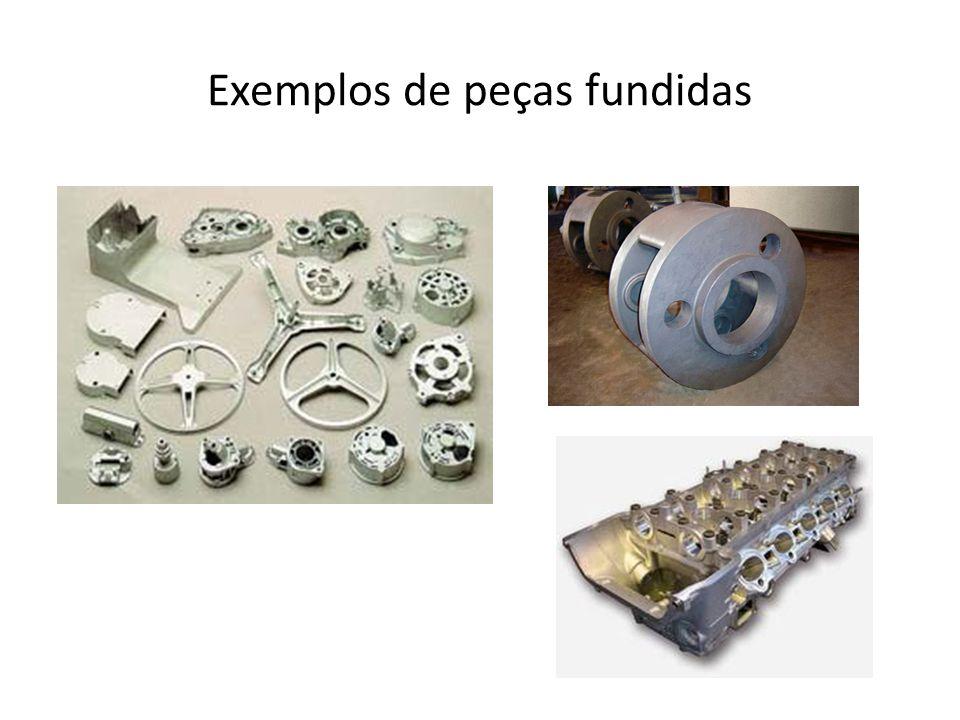 Exemplos de peças fundidas