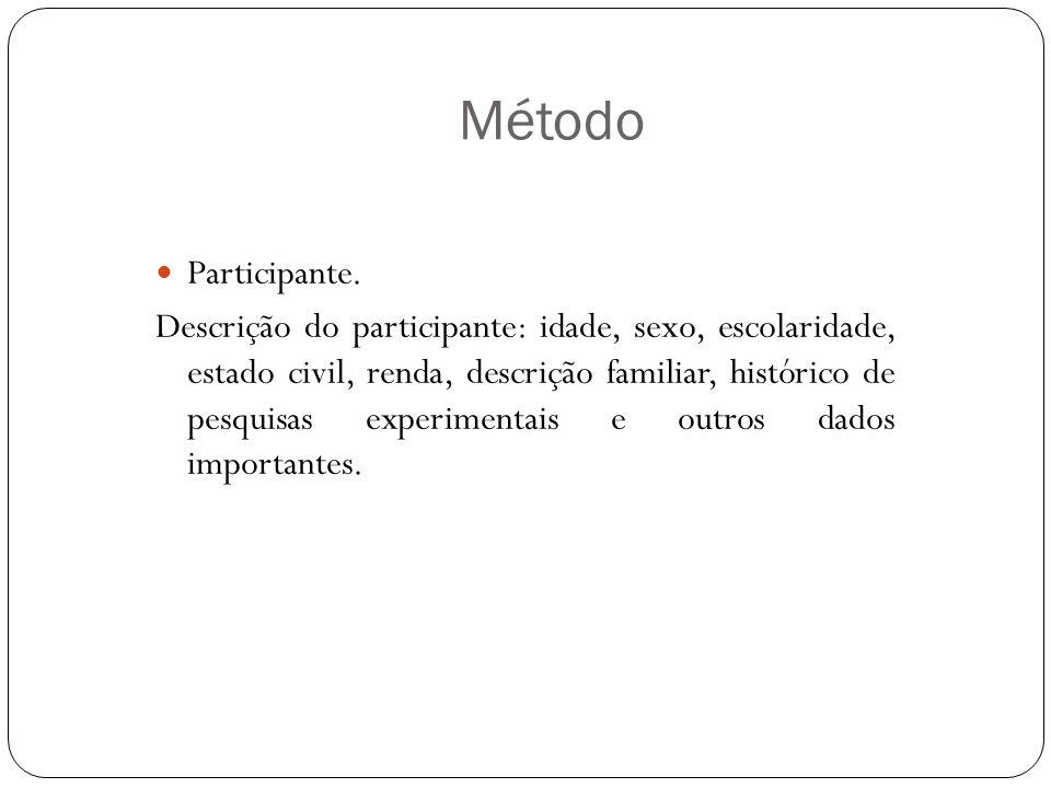 Método Participante.