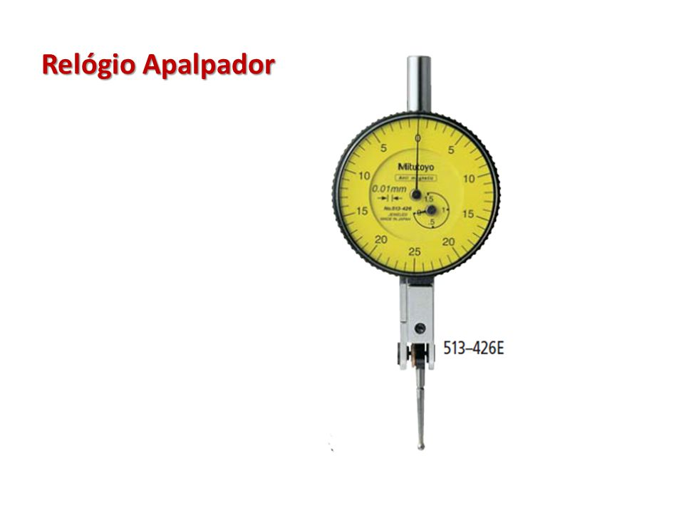 Relógio Apalpador