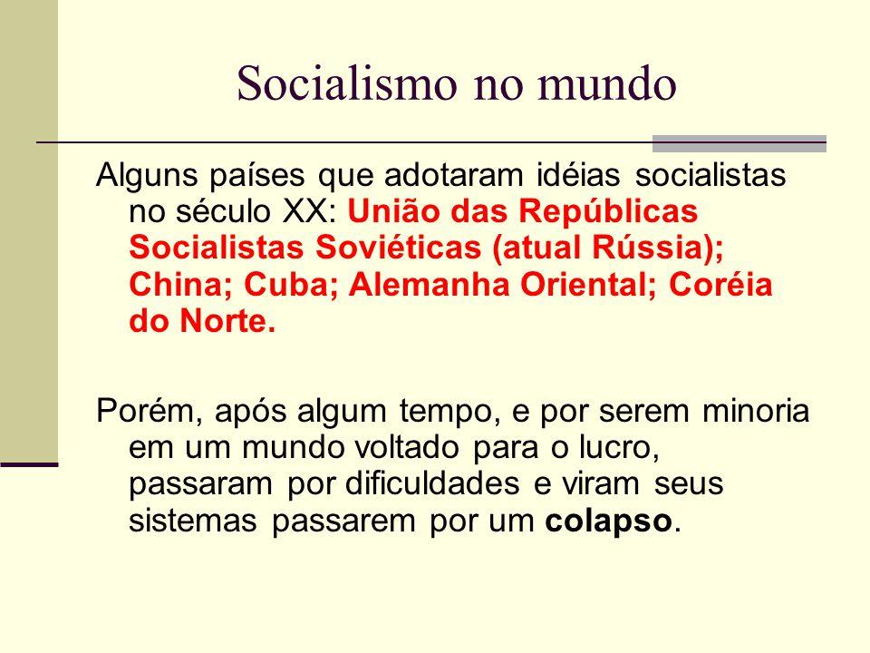 Socialismo no mundo