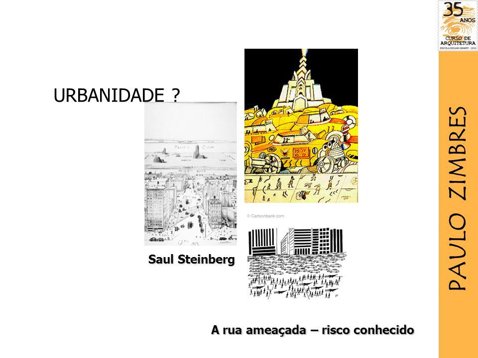 PAULO ZIMBRES URBANIDADE Saul Steinberg