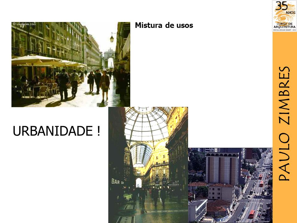 Mistura de usos PAULO ZIMBRES URBANIDADE !