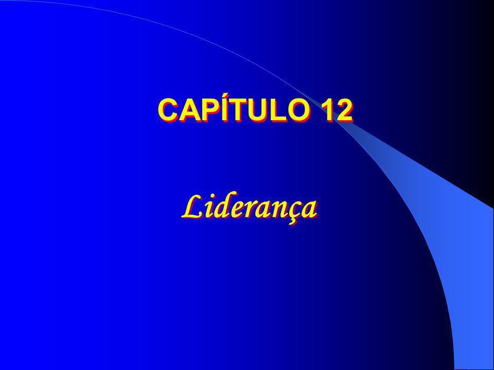 CAPÍTULO 12 Liderança