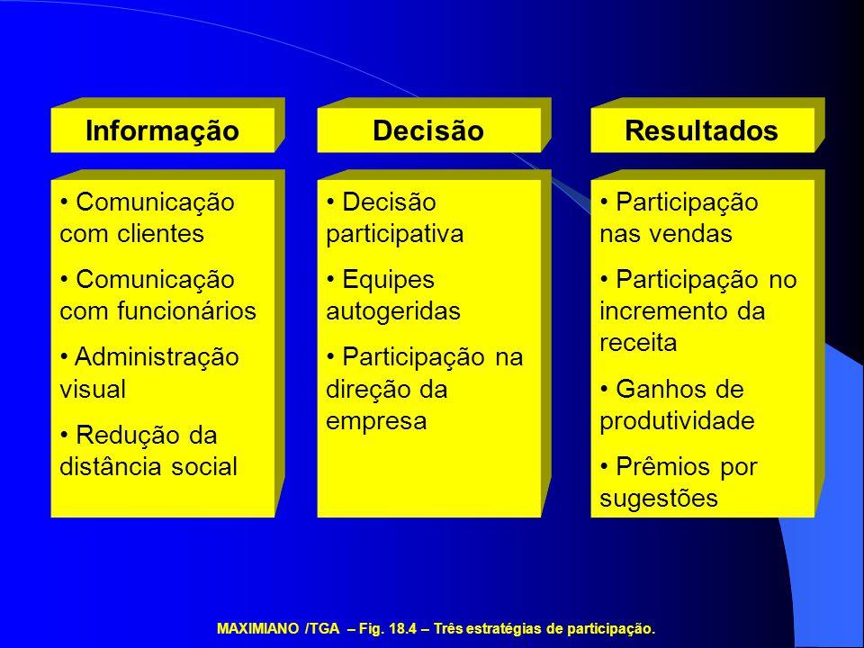 MAXIMIANO /TGA – Fig. 18.4 – Três estratégias de participação.